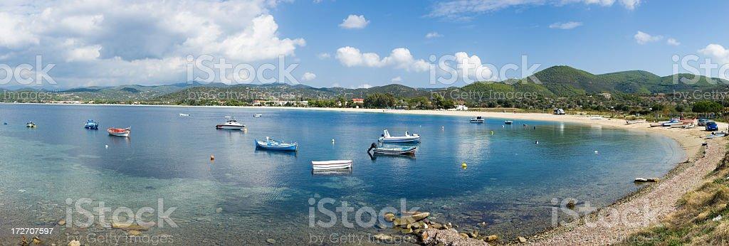 Bay of Toroni royalty-free stock photo