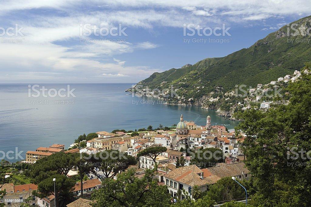 bay of vietri sul mare royalty-free stock photo
