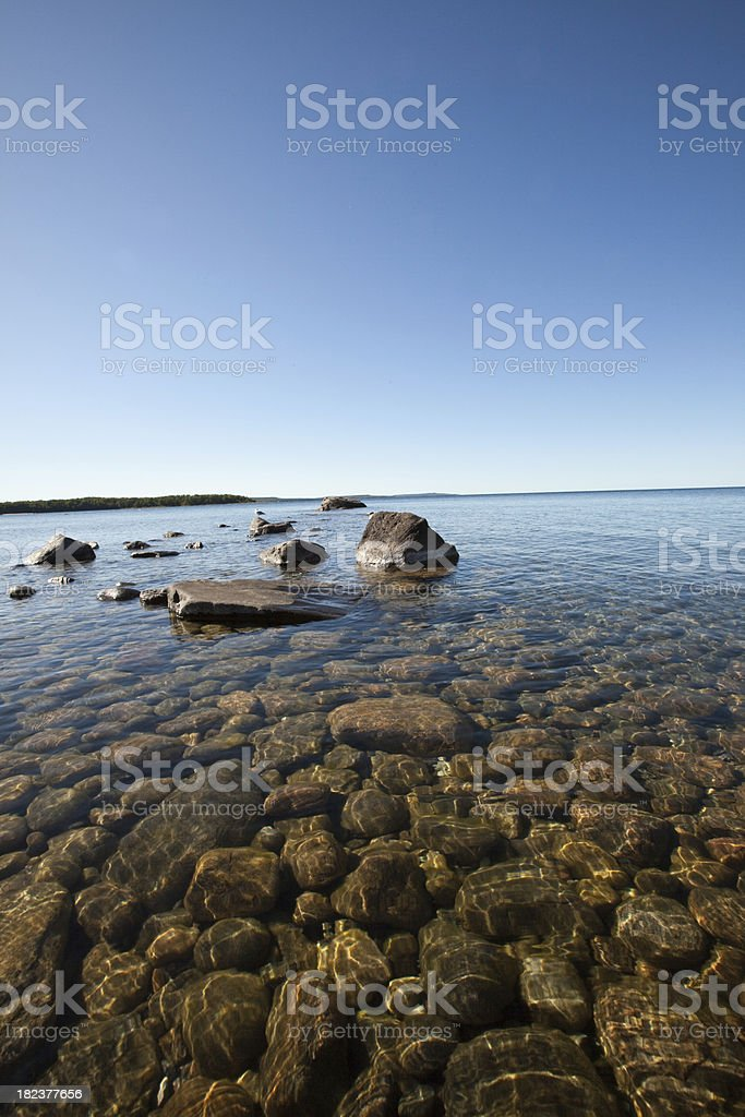 bay shore royalty-free stock photo
