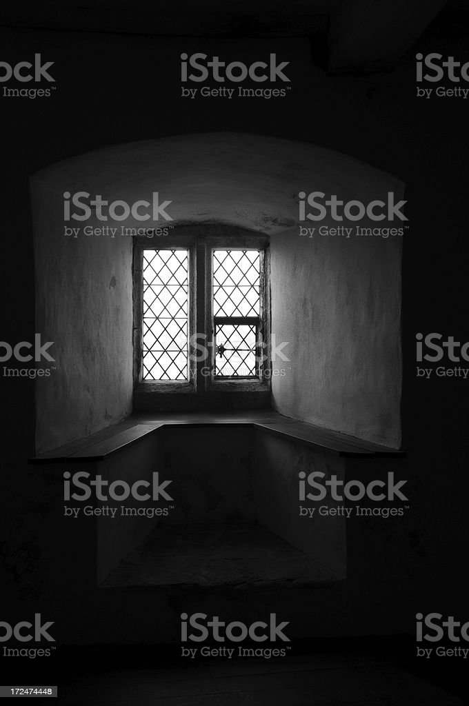 Bay window, Jersey. royalty-free stock photo