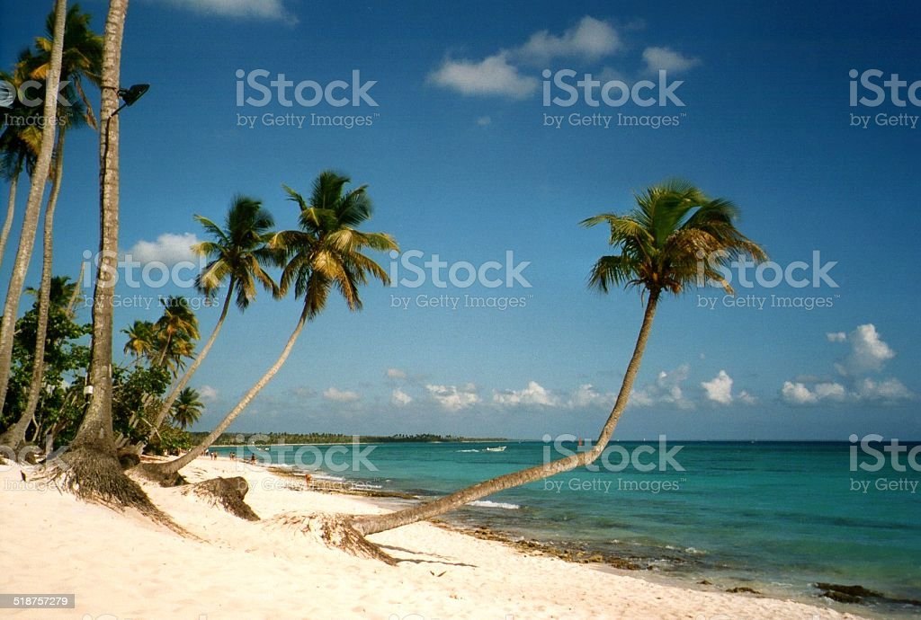 Bayahibe beach, dominican Republic stock photo