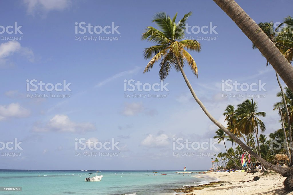 bayahibe beach royalty-free stock photo