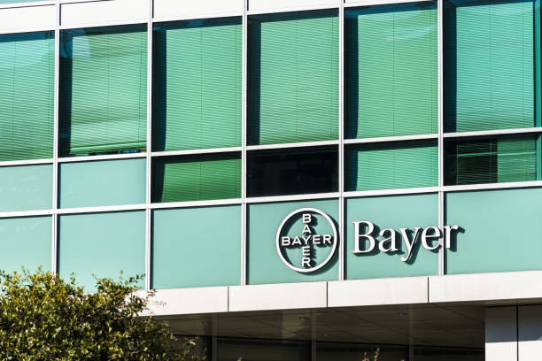 Bayer offices located in San Francisco Nov 2, 2019 San Francisco / CA / USA - Bayer offices located in Mission Bay District; Bayer AG is a German multinational pharmaceutical and life sciences company, one of the largest in the world herding stock pictures, royalty-free photos & images