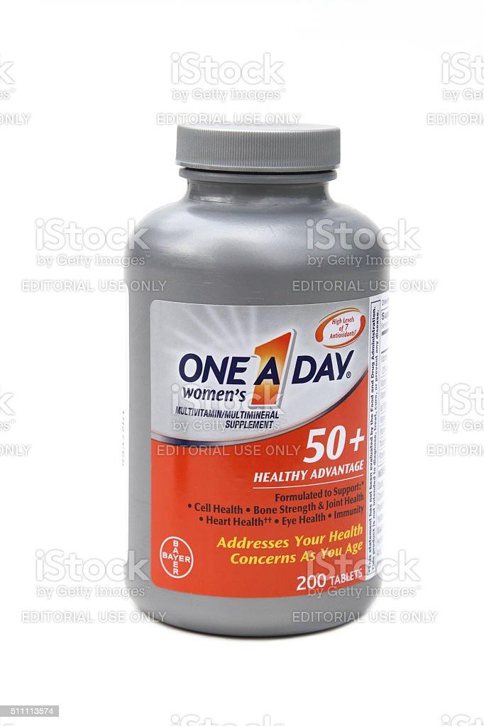 uno al día vitaminas y minerales
