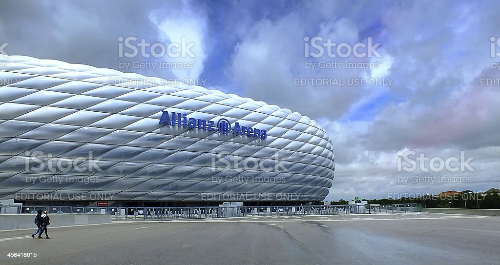 FC Bayern München-Footballstadion – Foto