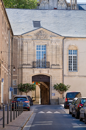 Bayeux Episcopal Palace Stock Photo - Download Image Now