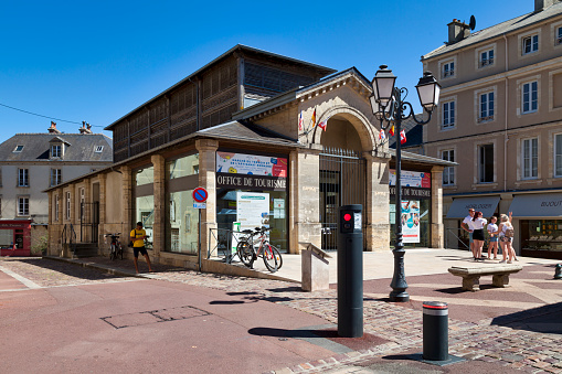 Bayeux Tourist Office Stock Photo - Download Image Now