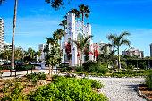Bayfront Park Arch in Downtown Sarasota Florida