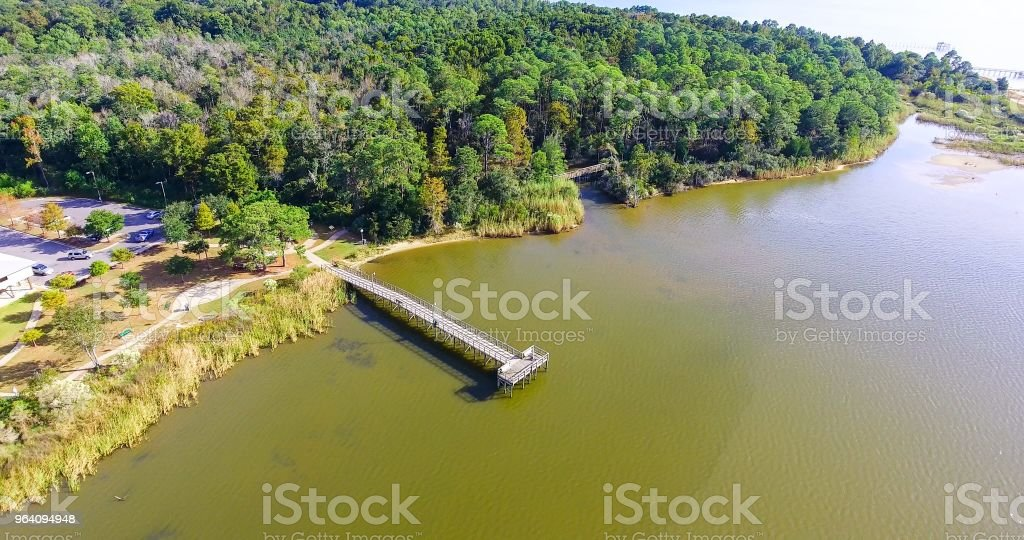 Bayfront Park - Royalty-free Alabama - US State Stock Photo