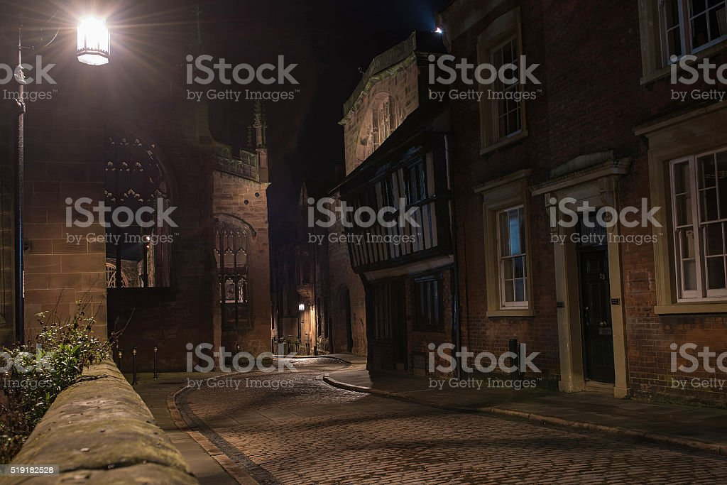 Bayley Lane Coventry stock photo