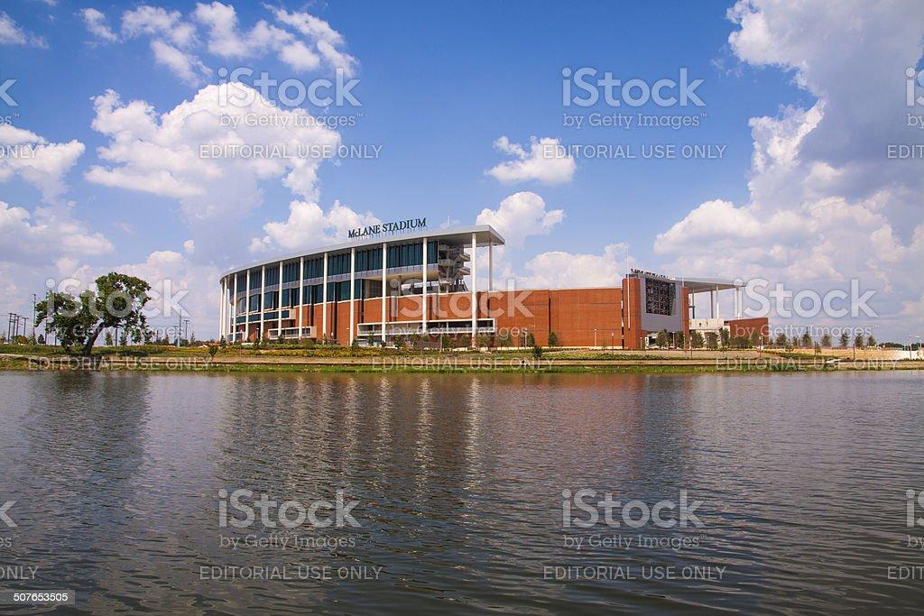 Baylor University McLane Stadium stock photo