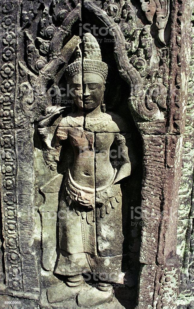 Bayon-Tempel Lizenzfreies stock-foto