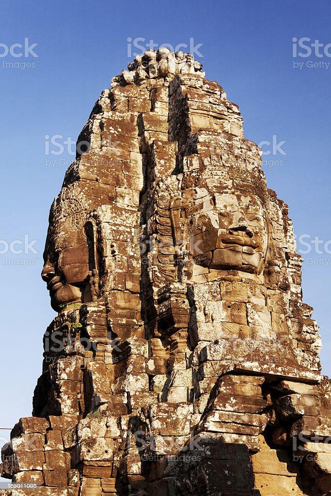 Bayon Temple in Angkor Wat, Cambodia royalty-free stock photo
