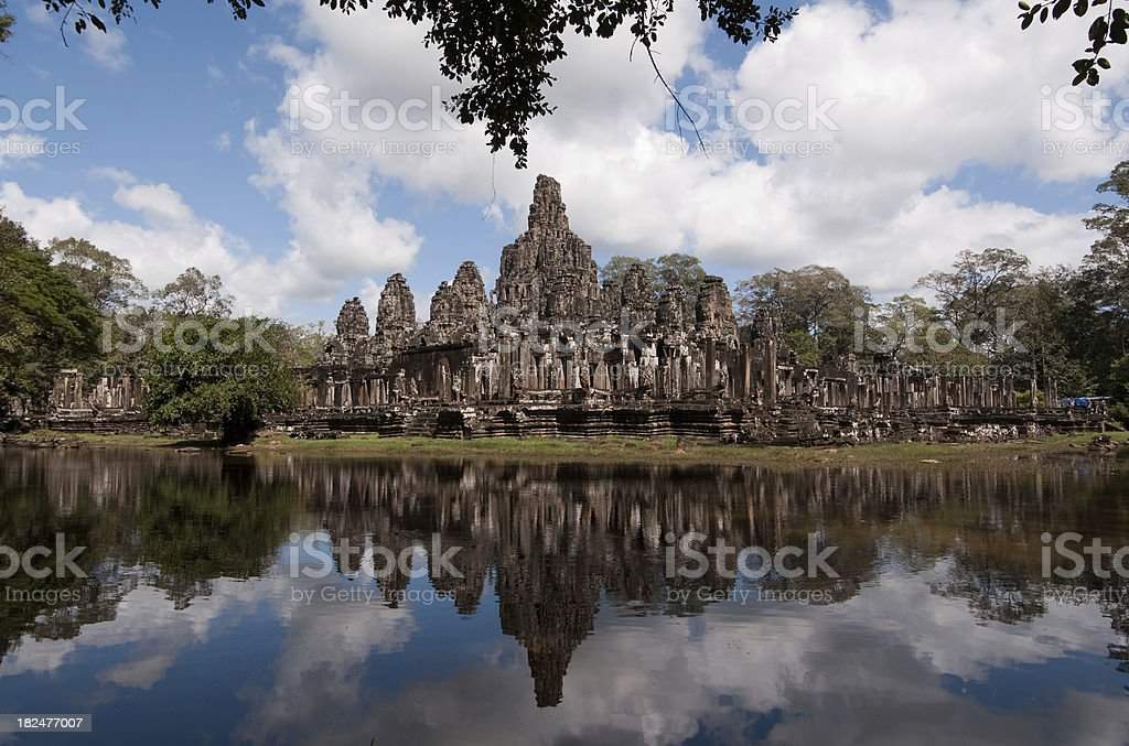 Bayon Temple royalty-free stock photo
