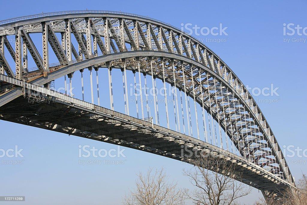 Bayonne Bridge, New Jersey stock photo