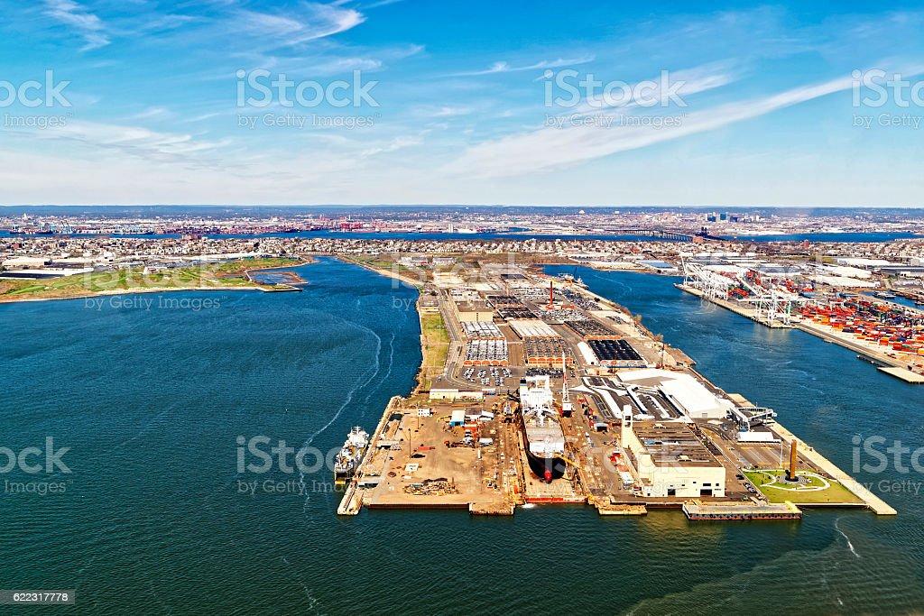 Bayonne Dry Dock and Repair stock photo