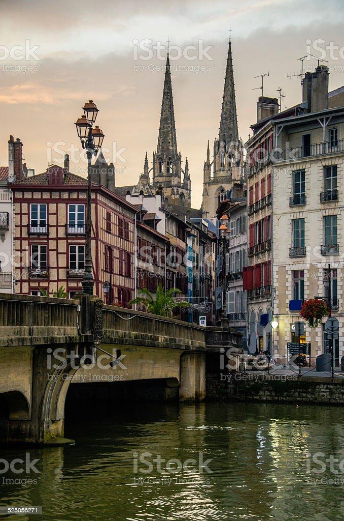 Bayonne, France stock photo