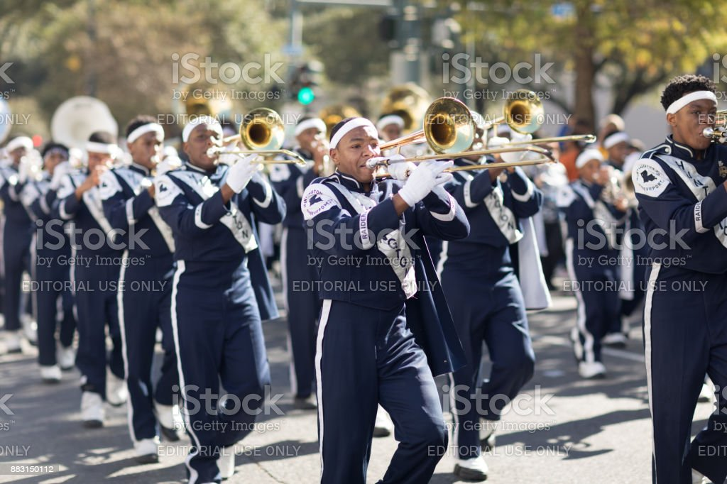 Bayou Classic Parade stock photo