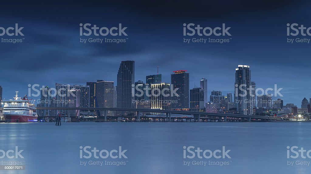 Miami Bayside foto stock royalty-free