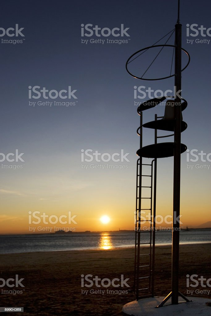 Baywatch royalty-free stock photo