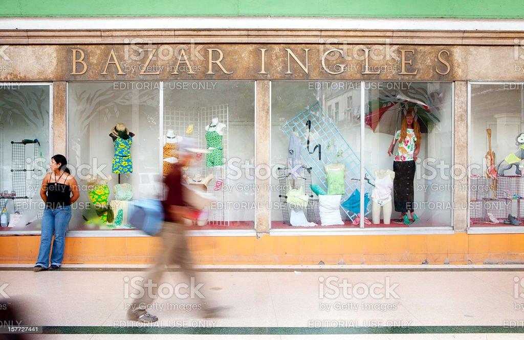 Bazar Ingles, Havana, Cuba stock photo