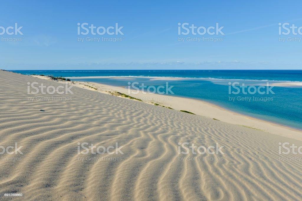 Bazaruto Island stock photo