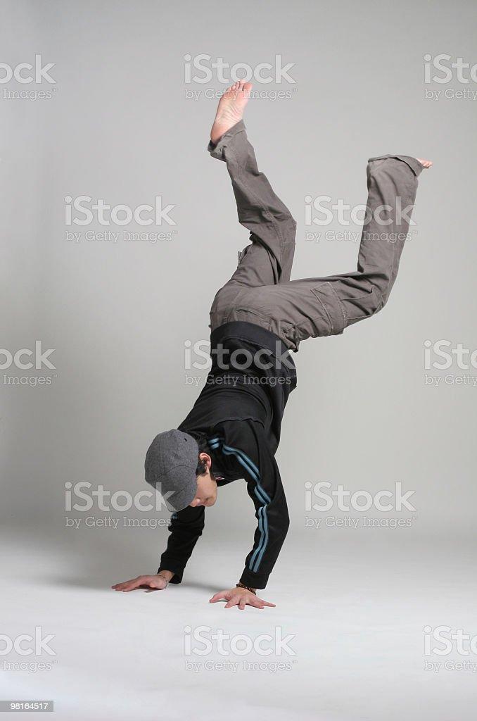 B-Boy breakdance royalty-free stock photo