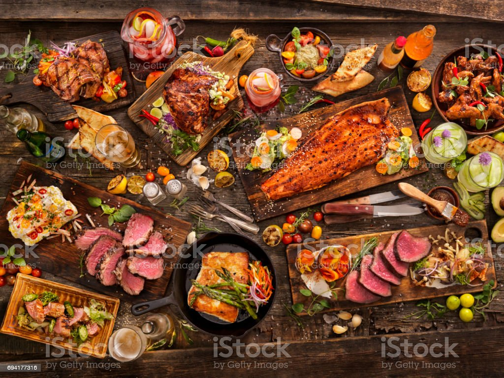 bbq Feast stock photo