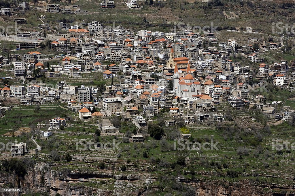 Bcharré/Lebanon royalty-free stock photo