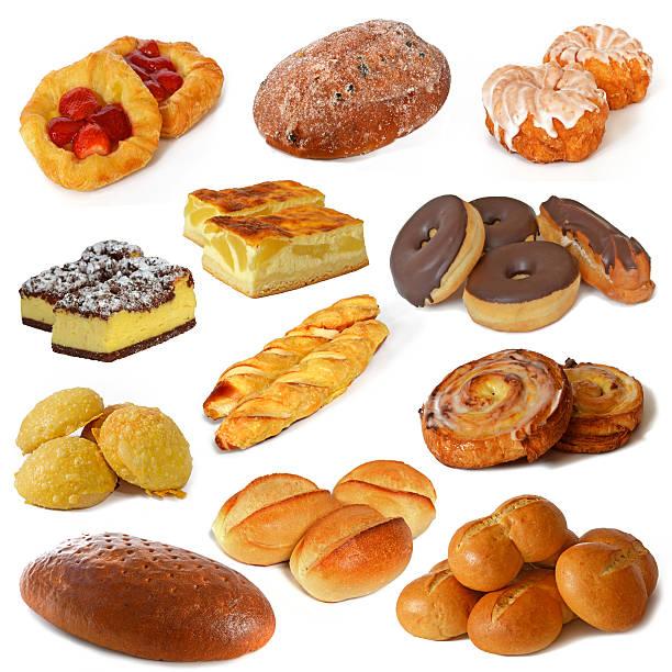 bäckereiprodukte - schwarzbrot rezept stock-fotos und bilder