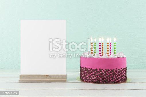 istock B-day party invitation concept 875599780