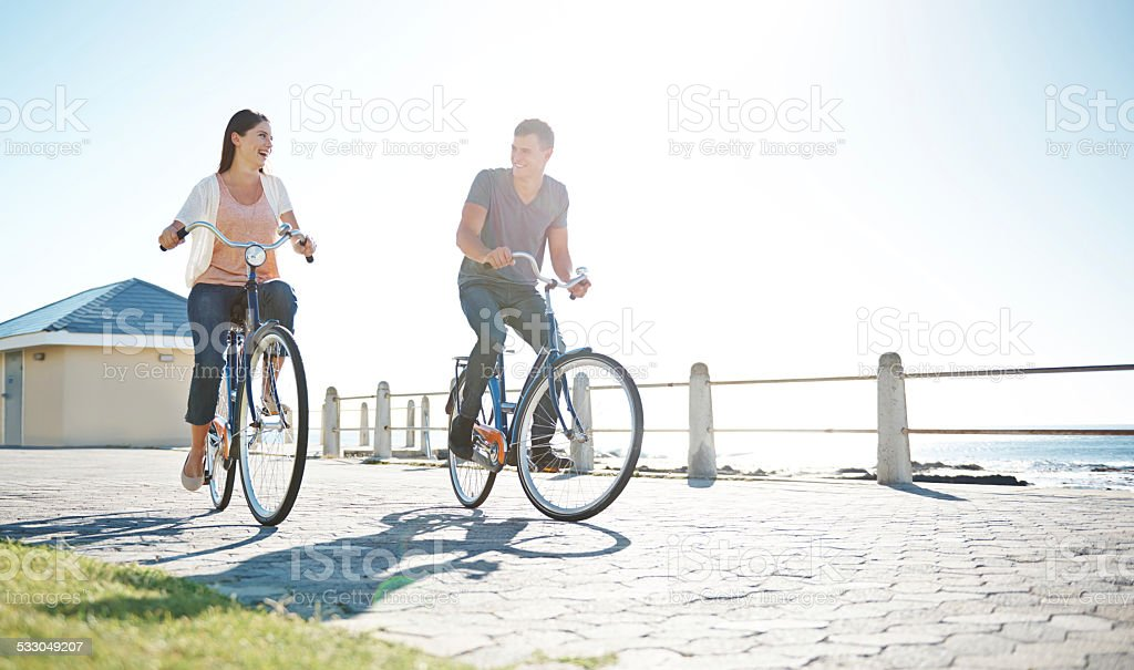 Be a fit couple stock photo
