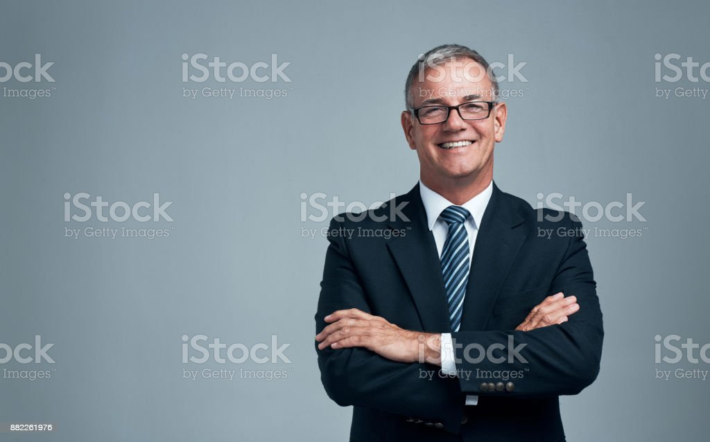 Be a leader and a boss stock photo