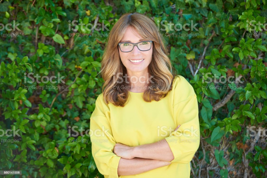 Be always positive stock photo