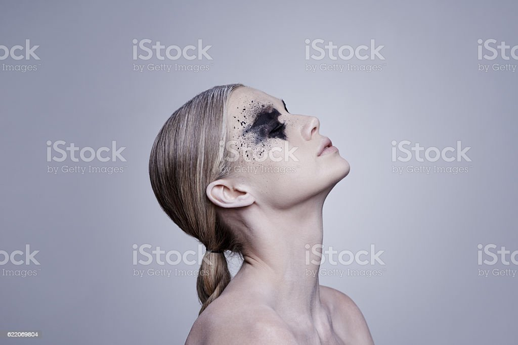 Be as bold as your beauty stock photo