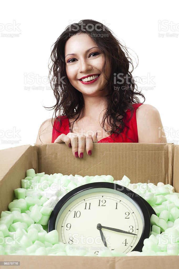 Be careful with time royalty-free stock photo