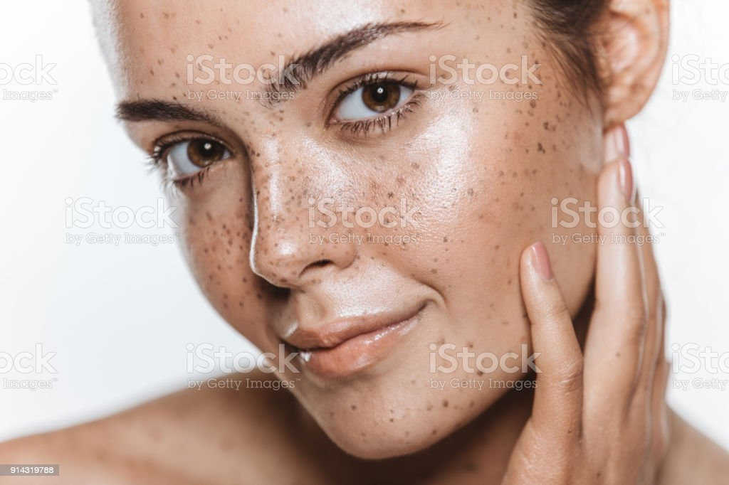 Be comfortable in your own skin stock photo