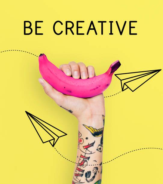kreative ideen imagination inspiration kreativität - tattoo ideen stock-fotos und bilder