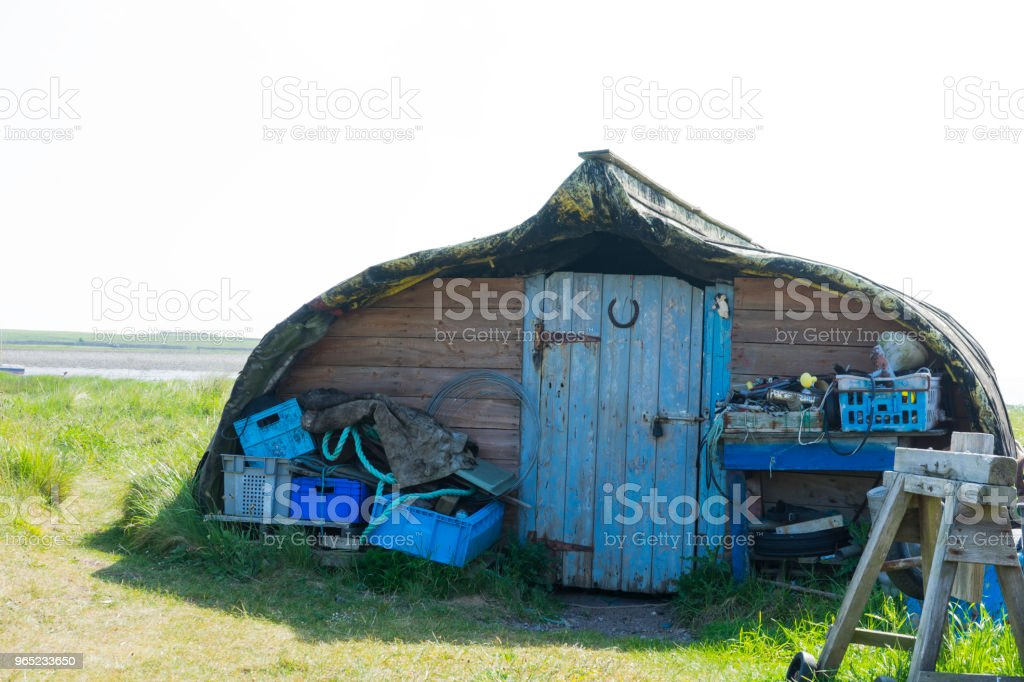 Be Different,  get a Boat House/Shed royalty-free stock photo