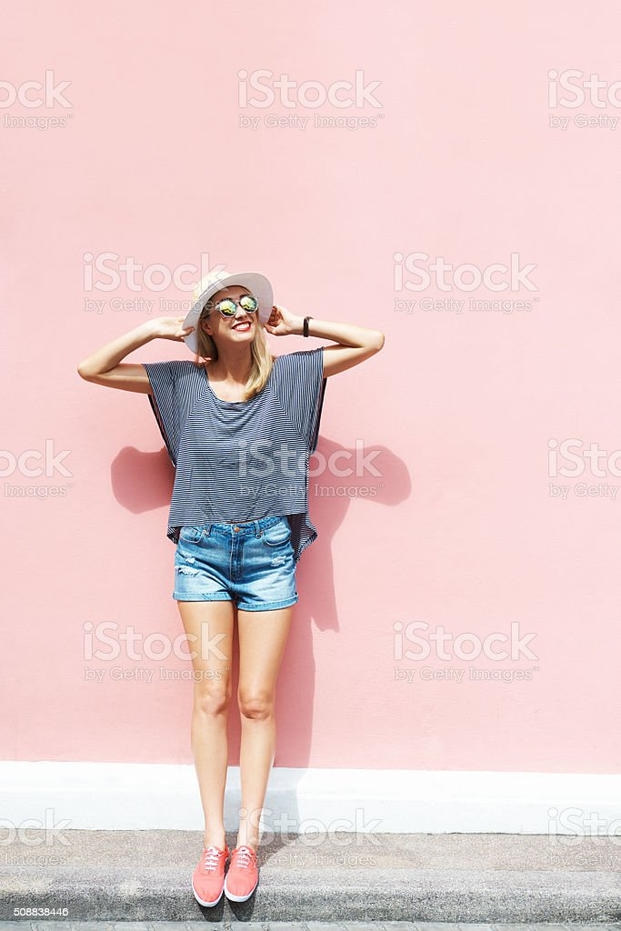 Be free like me stock photo