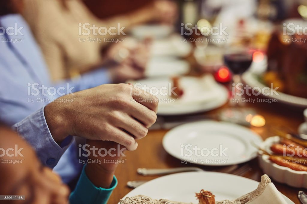 Be grateful for your abundance of blessings stock photo