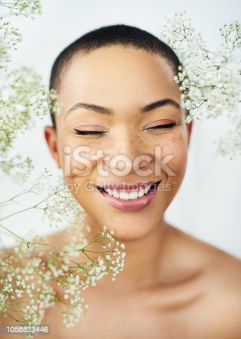 istock Be happy, be beautiful 1058823446