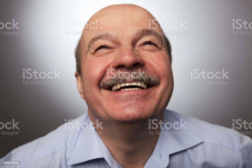 Be happy of news or events stock photo