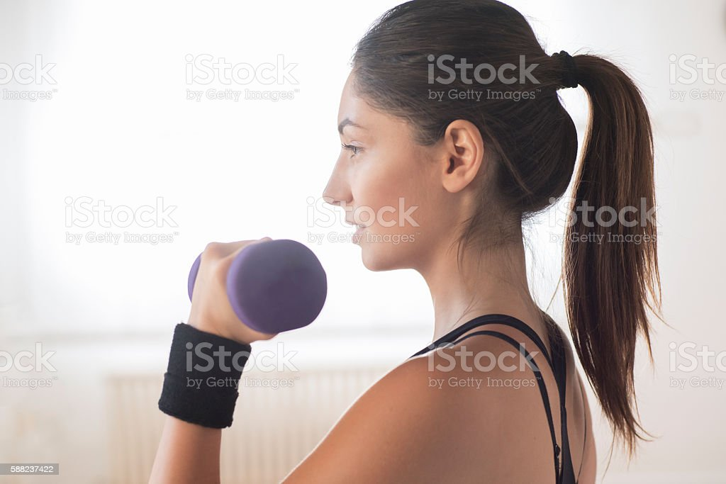 Be in good shape stock photo