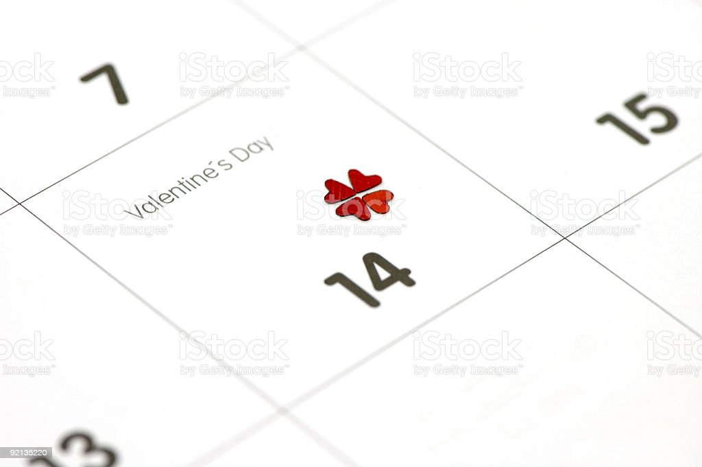 Be Lucky to Find Your Valentines's Match royalty-free stock photo