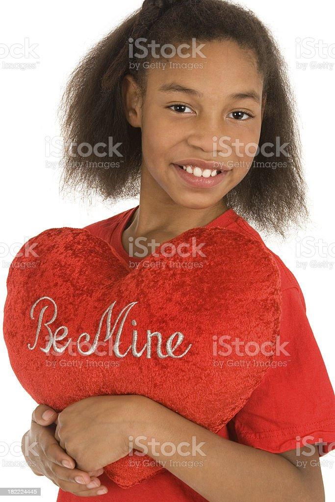 Be Mine Valentine's Series royalty-free stock photo