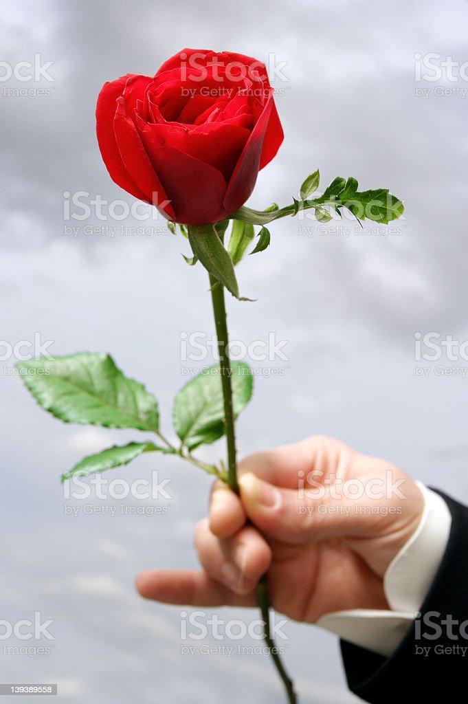 be my valentine royalty-free stock photo