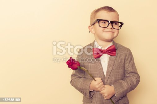 A young and dapper boy is ready to give his heart away to the girl he loves.