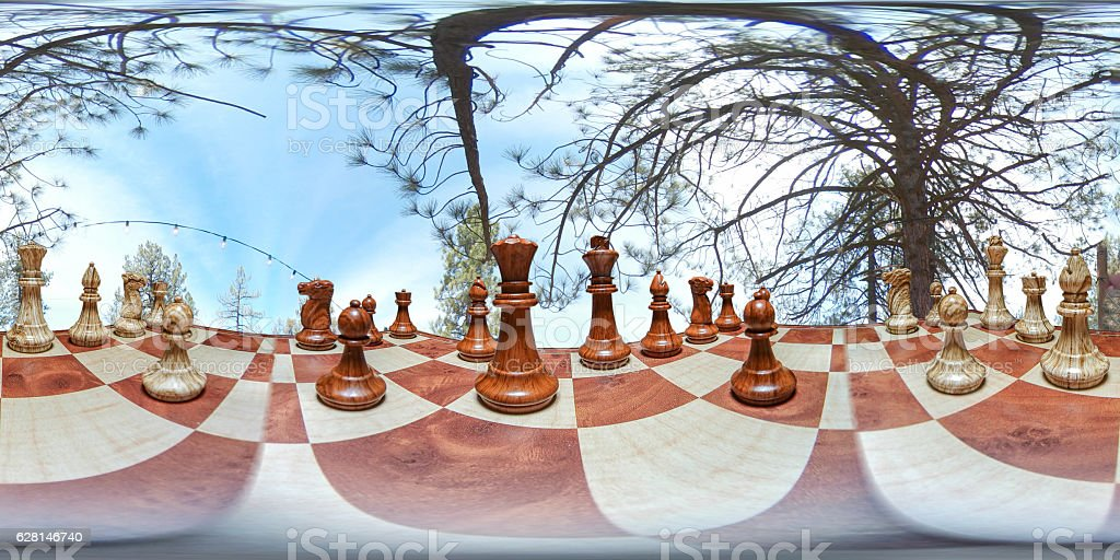 Be part of chess game stock photo