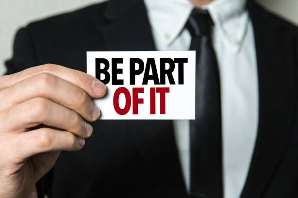 Be Part of It stock photo